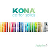 Kona Solids - Color Card (2018) - 340 Colors - Robert Kaufman