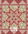Maison de Dominique Mini Quilt Patterns - La Vie en Rouge - Moda