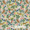 Menagerie - Jungle Natural - Rifle Paper Co (1/4 Yard) (Pre-order: 08/17) - Dinkydoo Fabrics