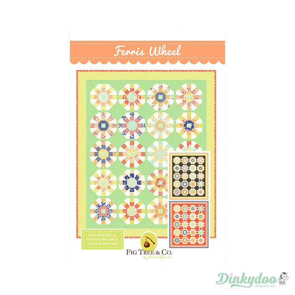 Coney Island Ferris Wheel Pattern By Fig Tree Quilts For