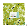 Simply Colorful II - Junior Layer Cake Green - V and Co. - Moda - Dinkydoo Fabrics