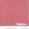 Oxford - Twill Check Red (Woven) 5715-14 - Sweetwater - Moda