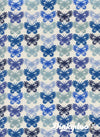 Panorama Ocean - Butterflies Blue Ribbon - Cotton + Steel (Pre-order: Apr 2018)