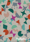 Paper Cuts - Shape Up Gem (Canvas) - Rashida Coleman Hale - Cotton + Steel (1/4 Yard)