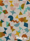 Paper Cuts - Shape Up Topaz (Canvas) - Rashida Coleman Hale - Cotton + Steel (1/4 Yard)