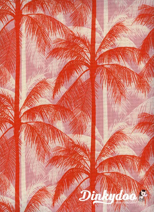 Poolside - Palms Pink - Melody Miller - Alexia Abegg - Cotton + Steel