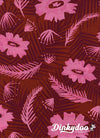 Poolside - Palm Springs Bouquet Pink (Rayon) - Melody Miller - Alexia Abegg - Cotton + Steel (1/4 Yard) (Pre-order: Feb 2018)