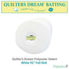 "Quilters Dream Select (Polyester) - 92"" (Full Roll 30 Yd.)"