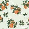 Primavera - Citrus Blossom Orange Metallic - Rifle Paper Co - Cotton + Steel