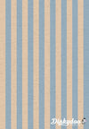 Primavera - Cabana Stripe Periwinkle Canvas - Rifle Paper Co - Cotton + Steel