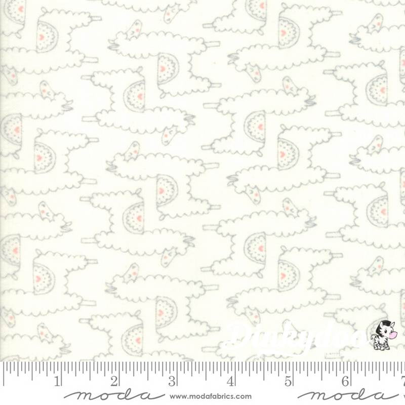 Moda Fabric Soft and Sweet Flannel Grey /& Yellow Junior Layer Cake Patchwor...