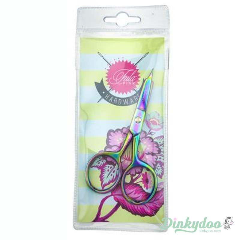 "Tula Pink 4"" Large Ring Micro Tip Scissors"