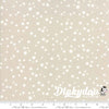 White Christmas - Stars Natural (Metallic) - Zen Chic - Moda (1/4 Yard) (Pre-order: June 2018)