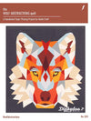 "Wolf Abstractions Quilt Pattern - Foundation Paper Piecing - Violet Craft (60"" x 65"") (Pre-order: Mar 2018)"