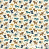 Woof Woof Meow - Navy Cream 20564-21 - Stacy Iest Hsu - Moda