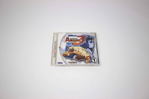 DREAMCAST - Street Fighter Alpha 3