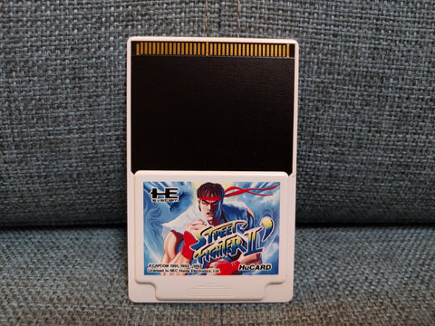 PCE - Street Fighter II