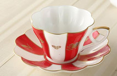 Candy Color Fairy Tale Cute Tea Cup & Saucer (8 colors)