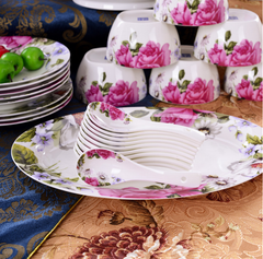 Full of Flowers Dining Set (56 piece)