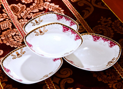 Istanbul Bone China Dining Set (60 Pcs)
