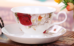 Rose Garden Coffee Set (14 piece)