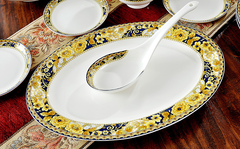 58 PCs Bone China Dining Set