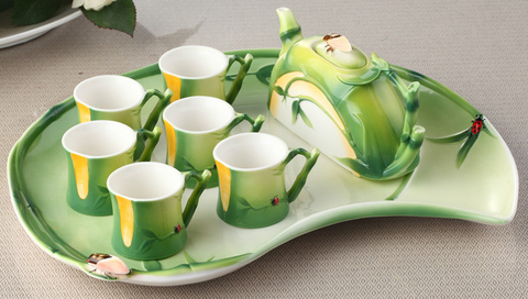 """Summer Memory"" Tea Set (8 pcs)"
