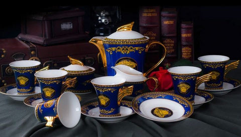 European Style Coffee Set (15 Pcs)