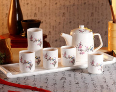 Bloom Floral Bouquet Tea Set (8 pcs)