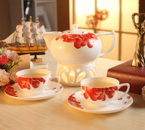 """Love"" Coffee Set (5 Pcs)"