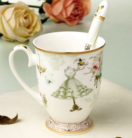 """Rainy Day"" Cute Tea Cup"