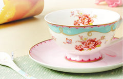 Sweetheart Super Lovely Teacup & Saucer & Spoon (3 pcs)