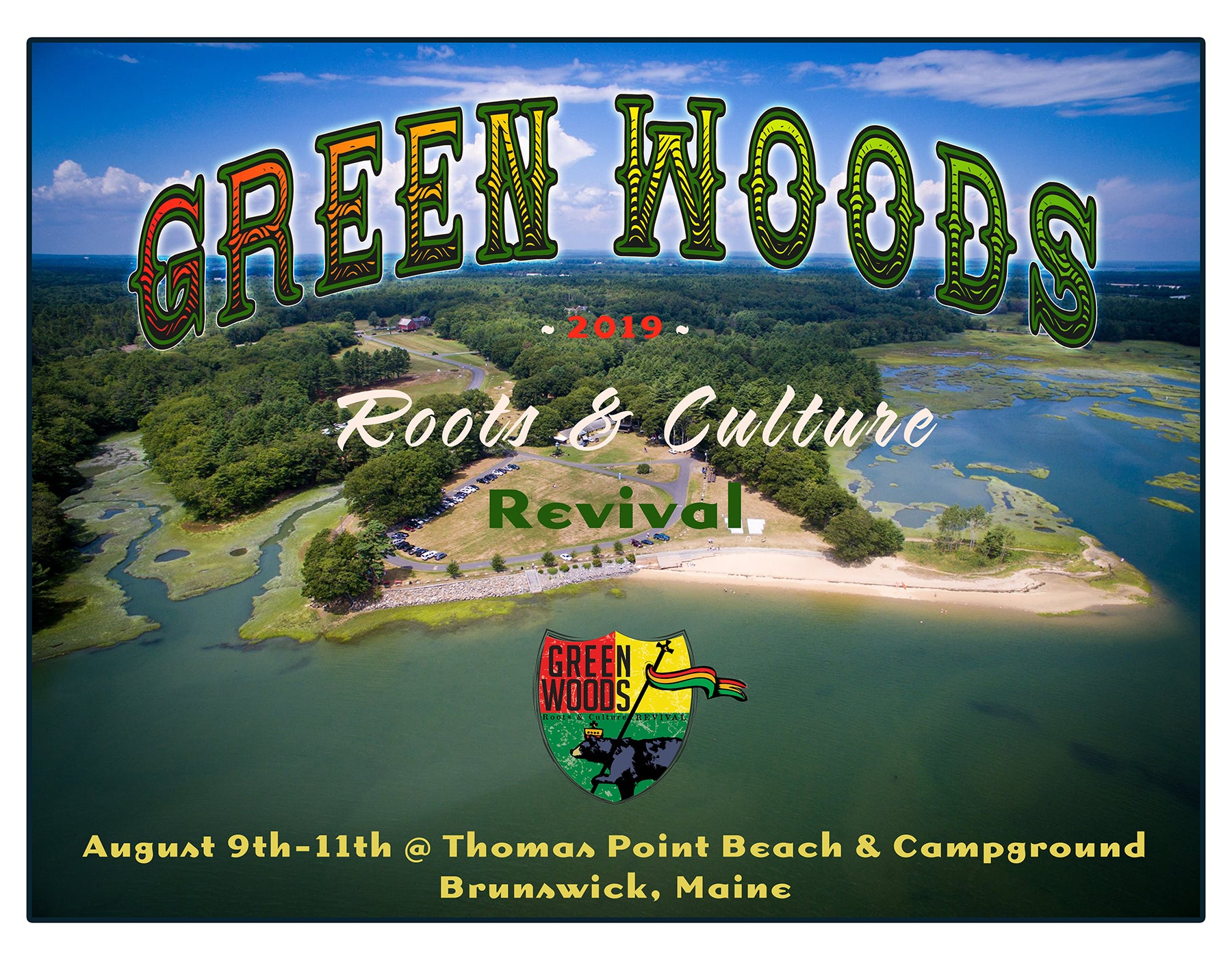 2019 Green Woods Roots & Culture Revival- Day Passes
