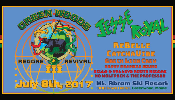 Green Woods Reggae Revival III