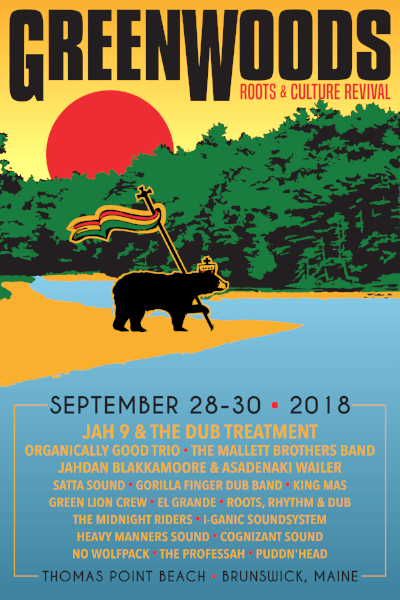 Green Woods Roots & Culture Revival- Tickets