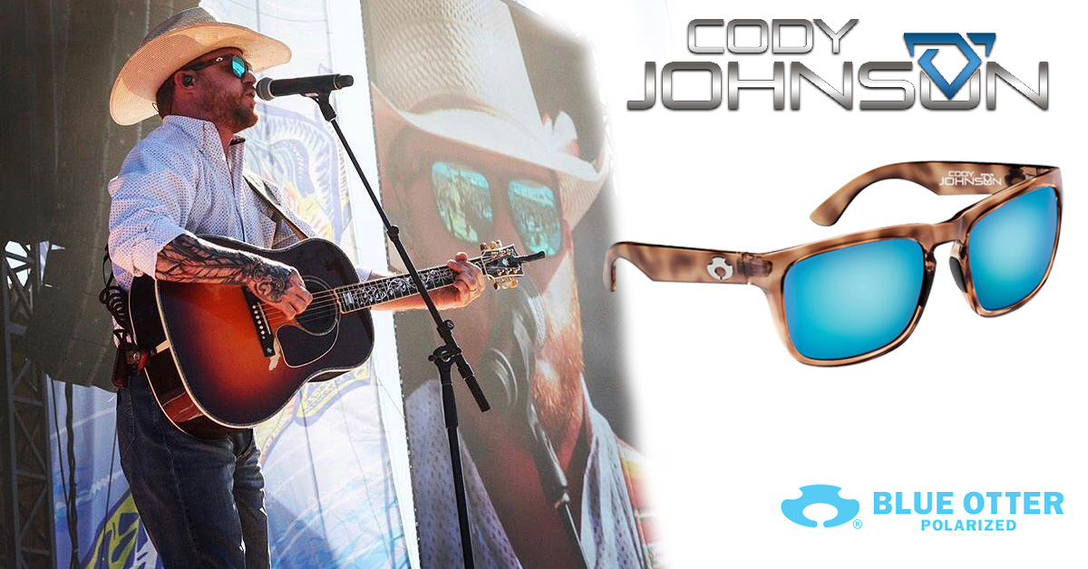 Cody Johnson Sunglasses by Blue Otter Polarized