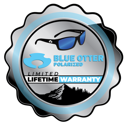 Blue Otter Polarized Sunglasses Lifetime Warranty
