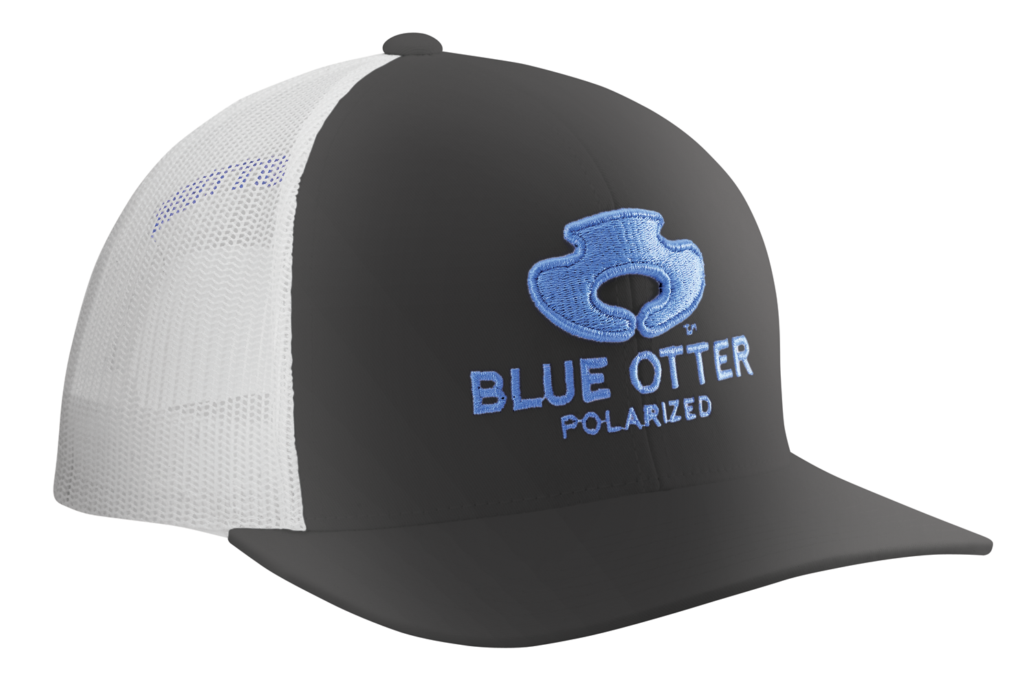 |Pro Crown| Blue Otter Hat Mesh Hat Black