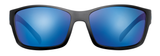 |Polarized Sunglasses| |Oconee| Matte Black-Tidal Blue | NYLON