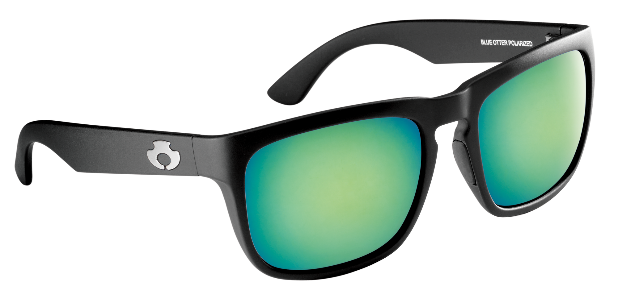 |Polarized Sunglasses| |Cumberland| Matte Black-Deep Green| NYLON