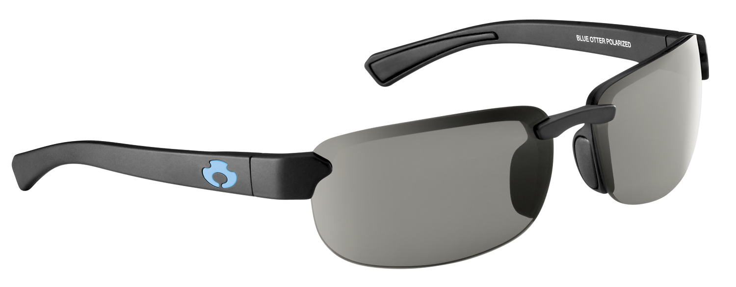 |Polarized Sunglasses| |Sinclair| Matte Black-Hidden Graphite | NYLON