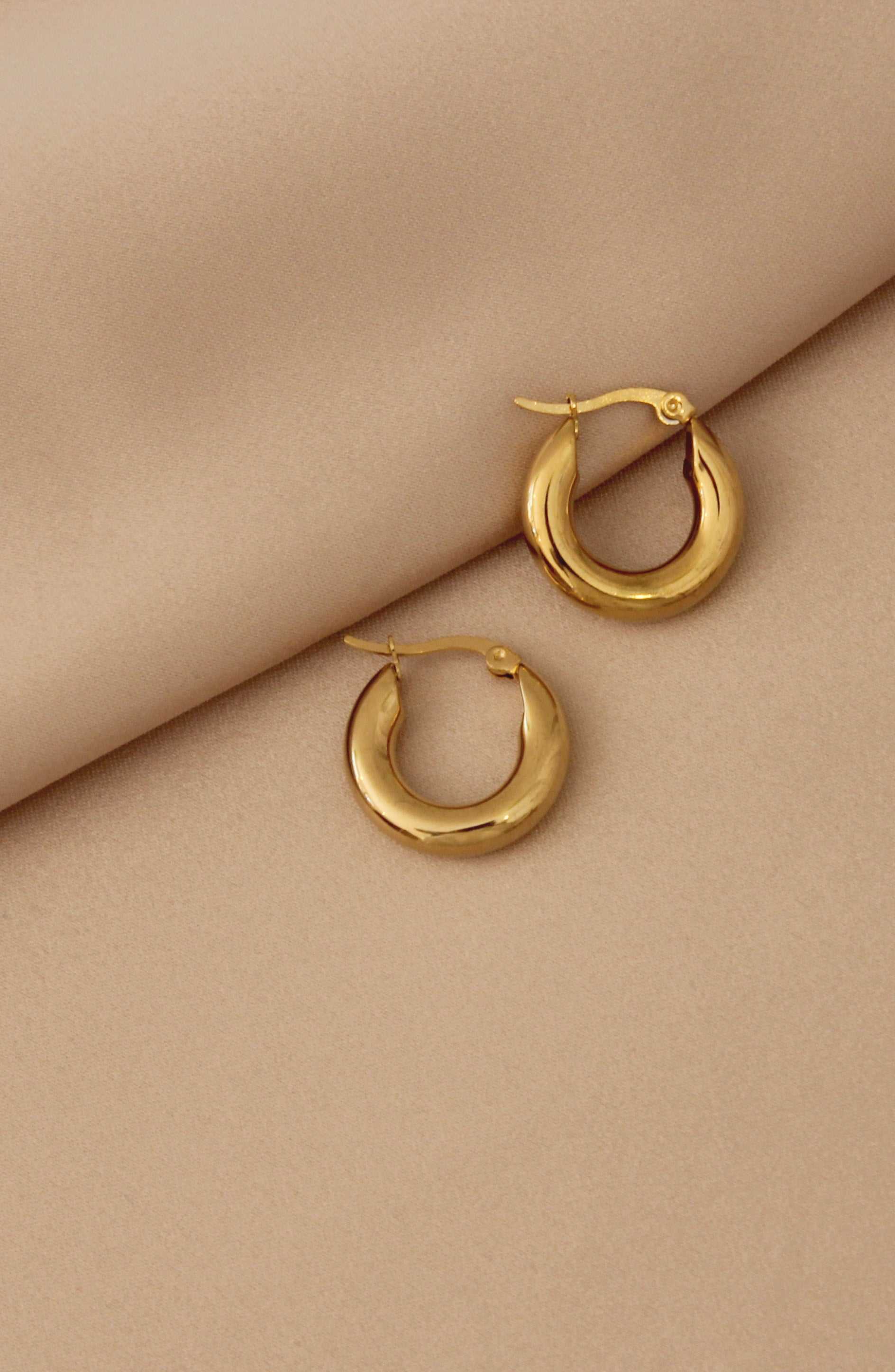 Classic Hoop Earrings - Small