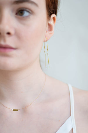 Bobby Pin Earrings