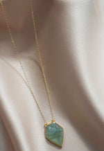 Aquamarine Eclipse Necklace