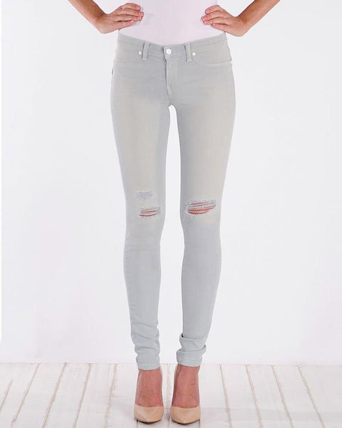 Henry and Belle Super Skinny Light Blue Distressed Jeans-Bottoms-Mod + Ethico