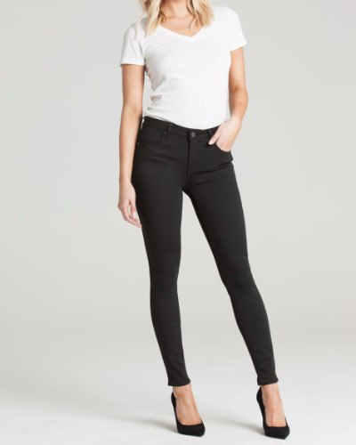 Ava Eternal Black Skinny Mid-rise Jean-Bottoms-Mod + Ethico
