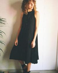 Cossac Black Tent Dress-Dress-Mod + Ethico