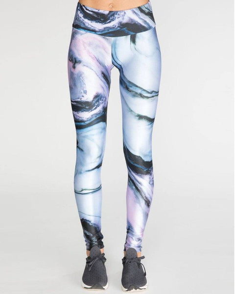 Multi-Colored Marble Leggings | Goldsheep Clothing-Leggings-Mod + Ethico