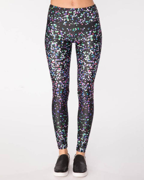 Goldsheep Clothing | Disco Glitter | Multi-Leggings-Mod + Ethico
