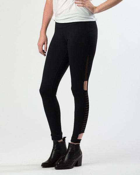 Rezeloot Mesh Cut Out Legging-Leggings-Mod + Ethico